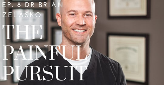 Chiropractor Dr. Brian A. Zelasko Headshot For Podcast Episode Treating NFL Players